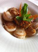 Restaurant La Marquière  - Noix de St Jacques -   © REST LA MARQUIERE
