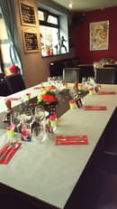 Restaurant le 107  - mise en place groupe -