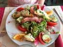 , Entrée : Restaurant Le Parma Pizzeria Du Port  - Salade de chèvre chaud -