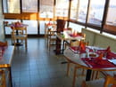 Restaurant les Messageries  - terrasse d'hiver -   © barré muriel