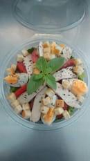 , Entrée : Roma Pizza  - Notre salade cesar -