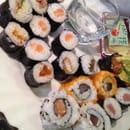 , Plat : Sushi Sakura Craponne