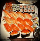 Sushirama  - Assiette de sushi -   © Adeline