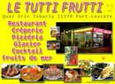 Tutti frutti  - restaurant, crêperie, glacier, fruits de mer, moules frites, cocktails -   © cyber