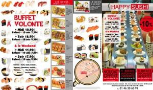 Restaurant - Happy Sushi