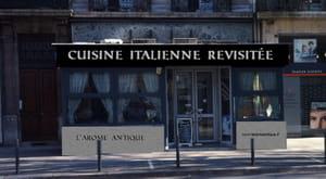 l 39 ar me antique restaurant italien grenoble avec l 39 internaute. Black Bedroom Furniture Sets. Home Design Ideas