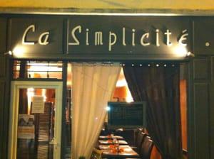 Restaurant - La Simplicité