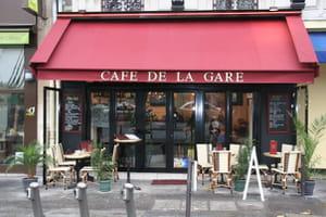 cafe de la gare brasserie bistrot paris avec l. Black Bedroom Furniture Sets. Home Design Ideas