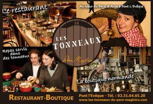 Restaurant - Les Tonneaux du Père Magloire