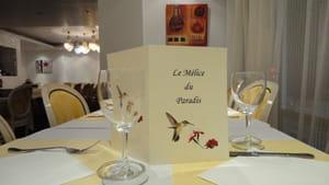 Restaurant - Le Melice du Paradis