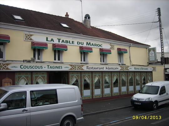 La table du maroc restaurant marocain saint ouen l 39 aumone avec l 39 i - Mondial relay st ouen l aumone ...