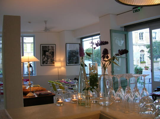 l 39 atelier restaurant de cuisine moderne marsanne avec l. Black Bedroom Furniture Sets. Home Design Ideas