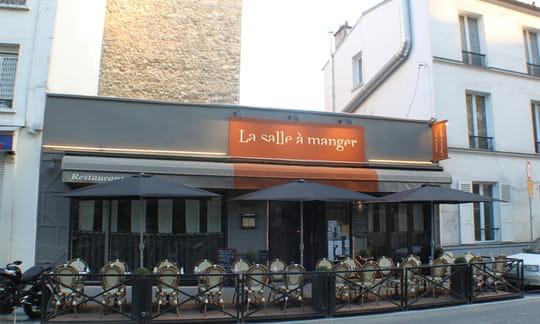 La salle manger restaurant de cuisine traditionnelle for Restaurant la salle a manger paris