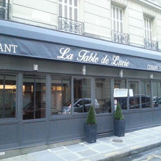 la table de lucie restaurant de cuisine traditionnelle paris avec l 39 internaute. Black Bedroom Furniture Sets. Home Design Ideas
