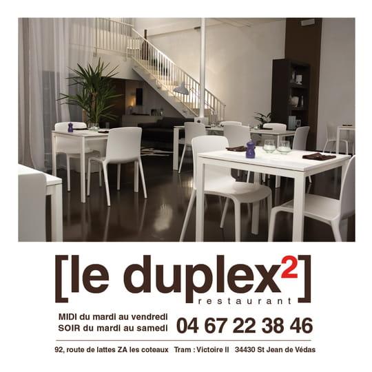 le duplex2 restaurant cuisines du monde saint jean de vedas avec l 39 internaute. Black Bedroom Furniture Sets. Home Design Ideas