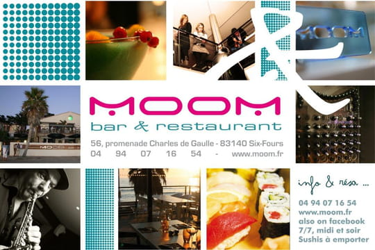 moom restaurant bar cocktails six fours les plages avec l 39 internaute. Black Bedroom Furniture Sets. Home Design Ideas
