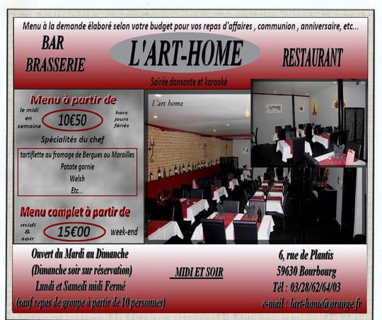 L 39 art home restaurant de cuisine traditionnelle for L internaute cuisiner