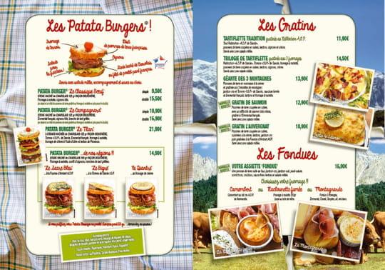 Restaurant De La Tour Menu