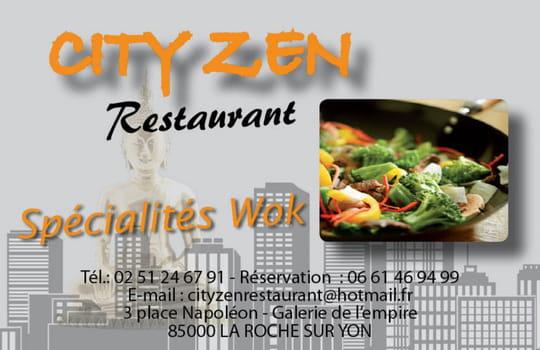 City zen restaurant photo 1 - City zebre la roche sur yon ...