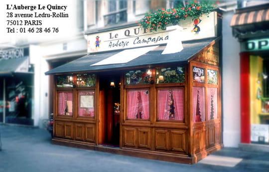 Le quincy restaurant paris