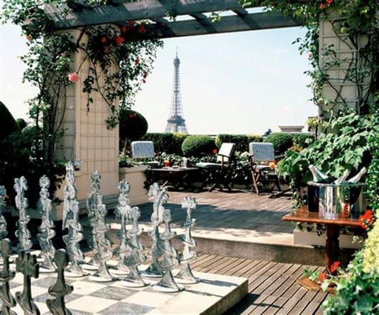 Raphael le restaurant photo 1 for Les jardins paris hotel