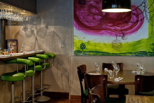 restaurant le cornichon photo 2. Black Bedroom Furniture Sets. Home Design Ideas