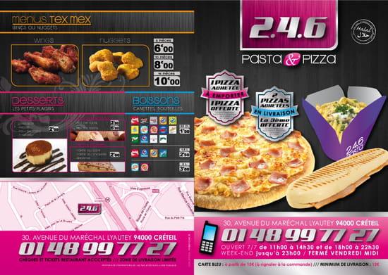 246, pasta pizza