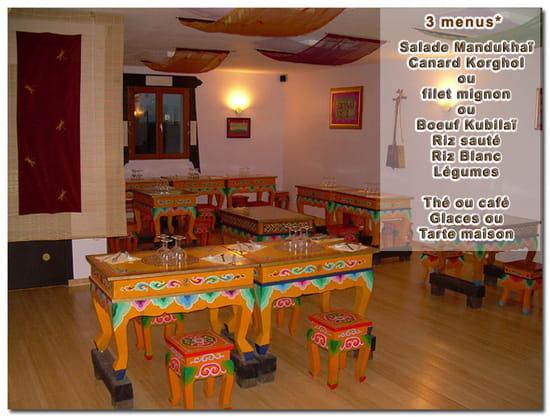 Mandukhai restaurant cuisines du monde houdilcourt avec for Mandukhai houdilcourt