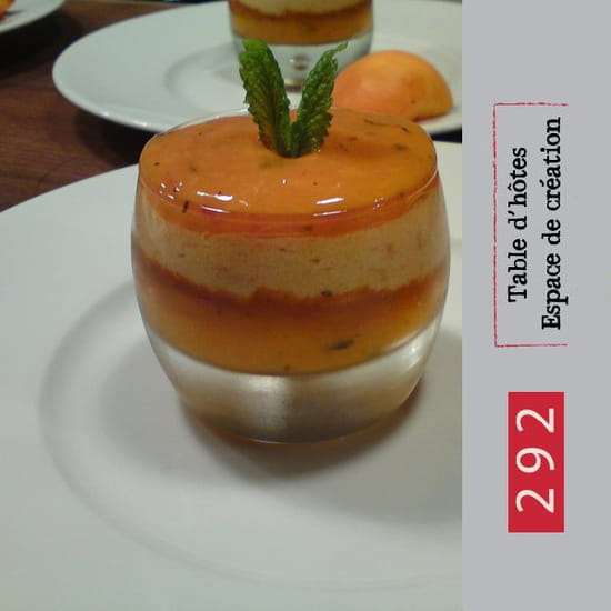 292  - 292 - table d'hotes - dessert -