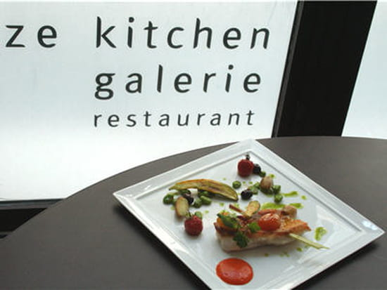Ze kitchen galerie restaurant gastronomique paris avec for Ze kitchen galerie menu