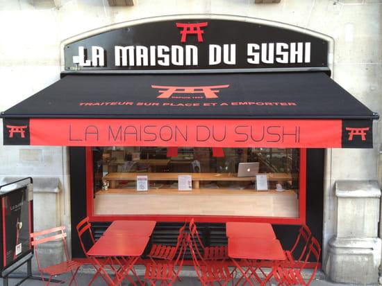 La maison du sushi restaurant japonais paris avec l for La maison du cafe paris