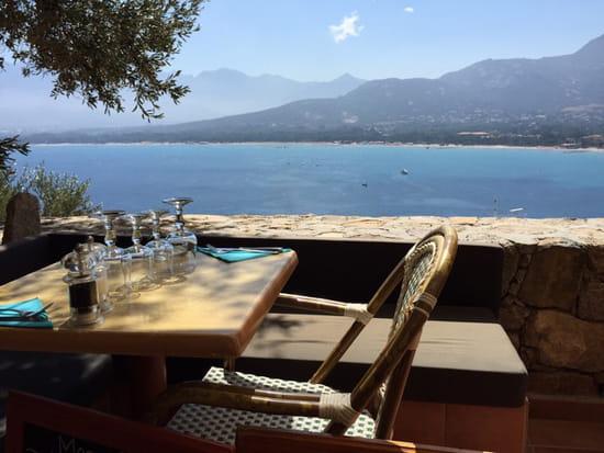 , Restaurant : A Candella  - Terrasse du restaurant -