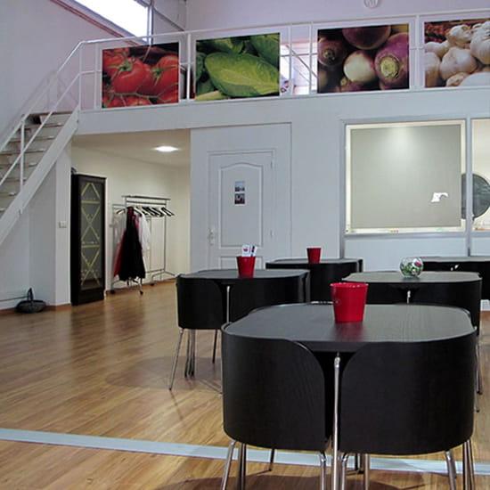 A l'Ecole de Cuisine  - conférences - réfectoire -   © la matière vive