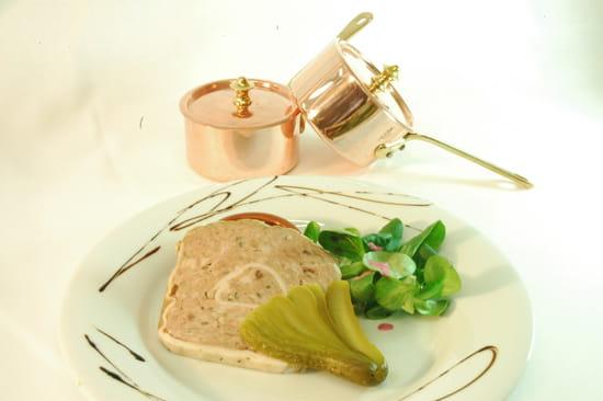 A l'Image Sainte-Anne - Kyriad Vannes  - Terrine de campagne maison -   © restaurant A l'Image Sainte Anne