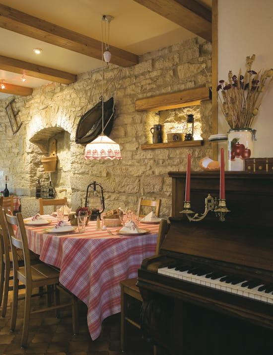 A La Ferme  - Salle de restaurant -