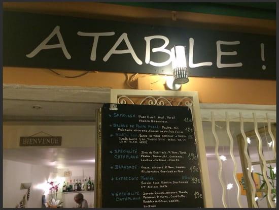 A Table  -  Restaurant ATable  -   © Maxime
