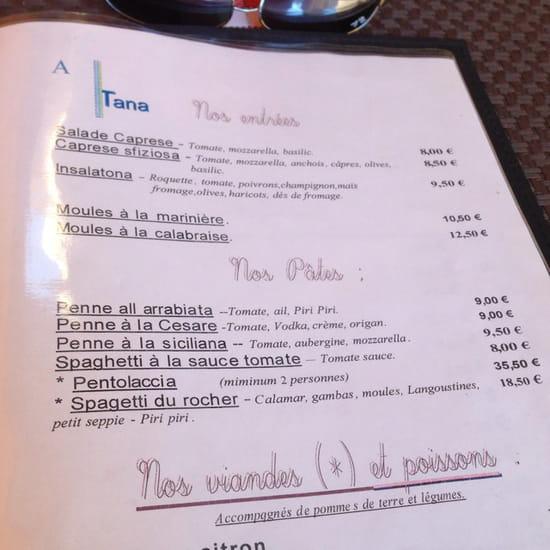 , Plat : A Tana