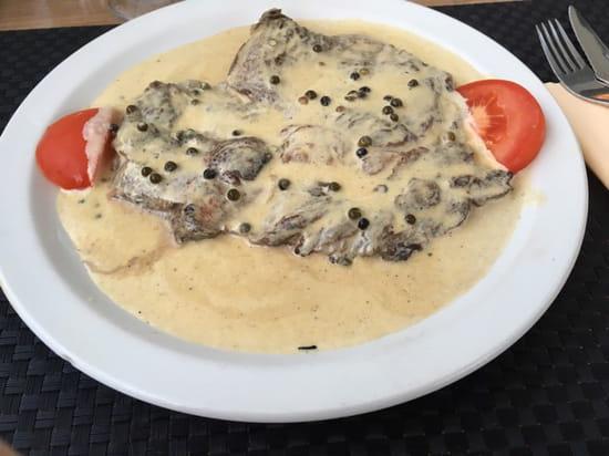 , Plat : Accendi Pipa  - Entrecôte sauce poivre -