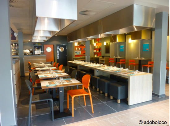 Adobo Loco  - intérieur du restaurant -   © adoboloco