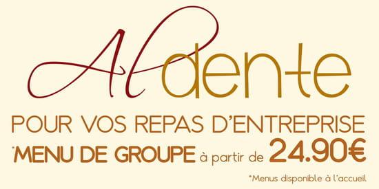 , Restaurant : Al Dente Melun