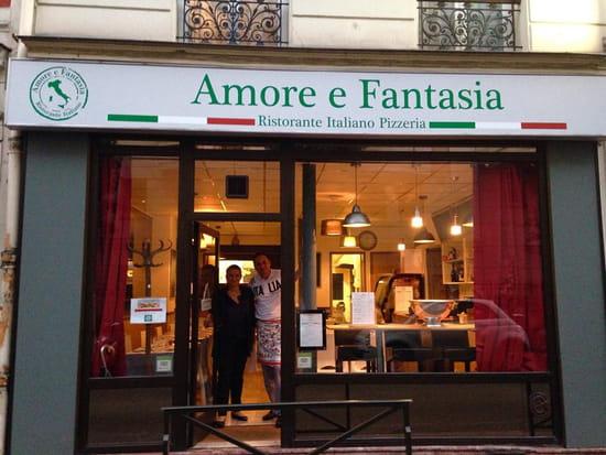 Amore e Fantasia  - Restaurant Italien Amore e Fantasia Lavallois -   © Amore e Fantasia