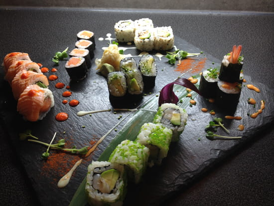 Aroma sushi restaurant japonais angers avec linternaute for Aroma japanese cuisine