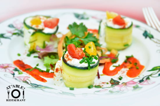 At'Able !  - Makis de courgettes -   © restaurant At'able !