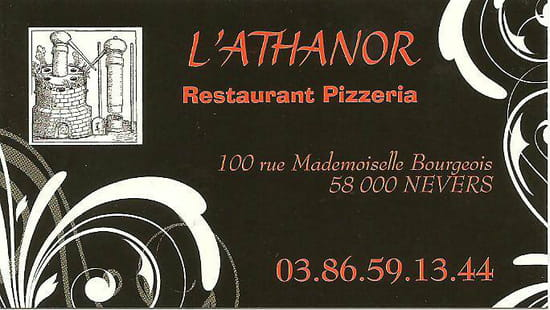 , Restaurant : Athanor