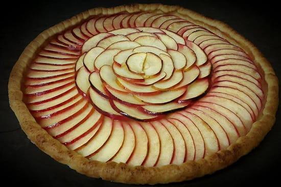 Au Bon Accueil  - Tarte aux pommes maison -