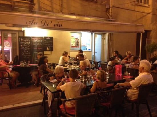, Restaurant : Au Di 'Vin  - Terrasse  -