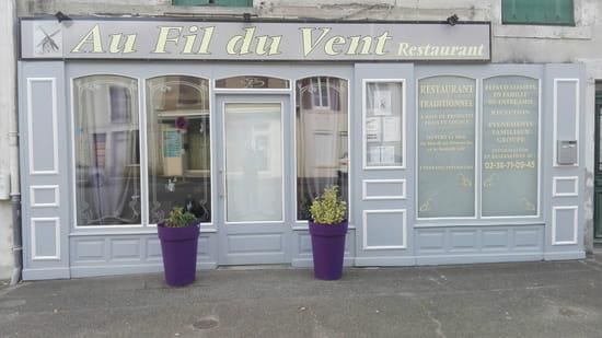 , Restaurant : Au Fil du Vent  - Au Fil Du Vent -