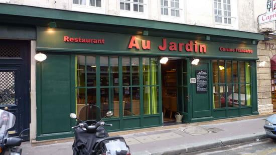 Au jardin restaurant de cuisine traditionnelle paris for Restaurant au jardin paris