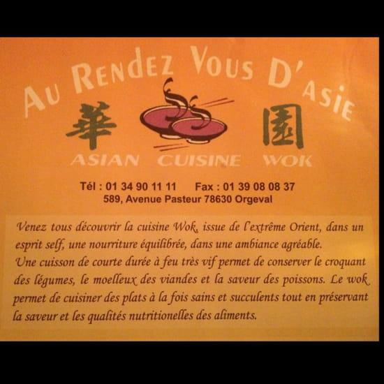 , Restaurant : Au Rendez-Vous d'Asie
