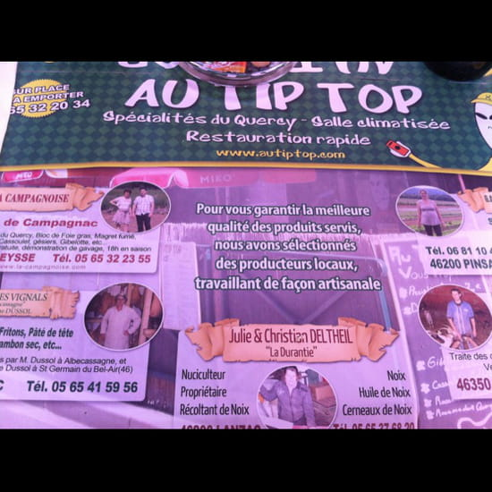 , Restaurant : Au Tip Top